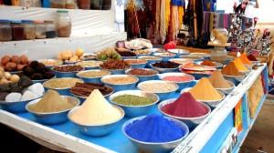 Especias de colores (Nubia)