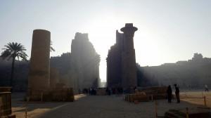 Amanece en Karnak (Egipto)