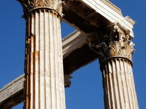 Corintias en el Templo de Zeus Olímpico