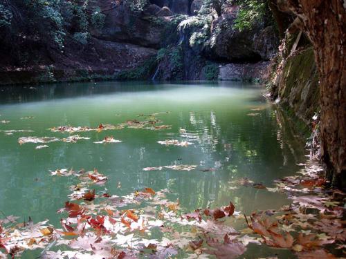 Estanque de piedra (Isla de Rodas)