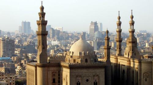 Minaretes sobre la ciudad