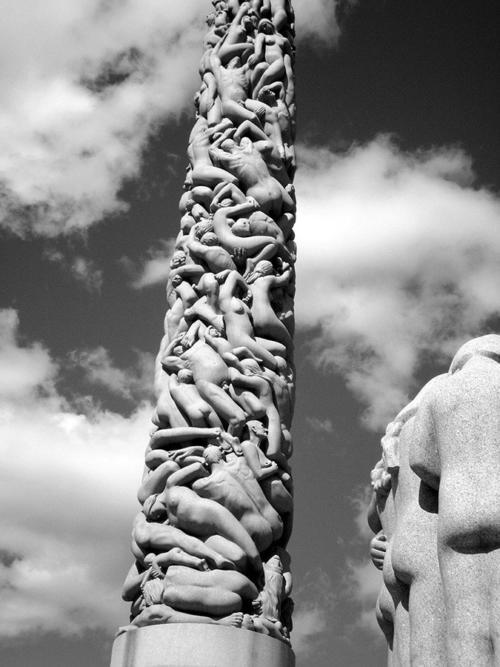 Columna humana