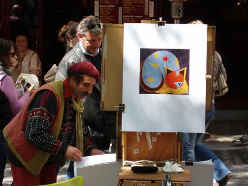 Pintor bohemio