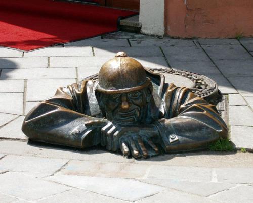 Čumil, el bonachón trabajador