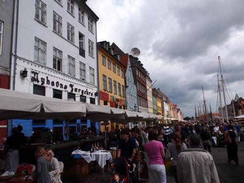 Terrazas en Nyhavn