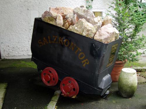 Vagoneta de sal