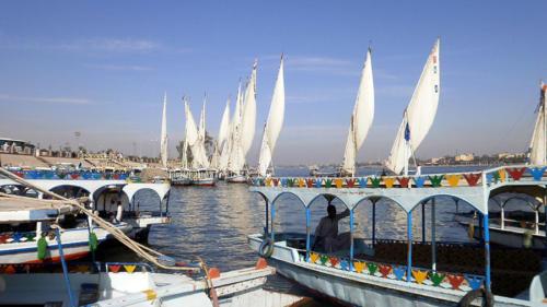 Tráfico en el Nilo