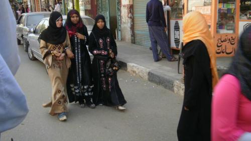 Mujeres en Edfú