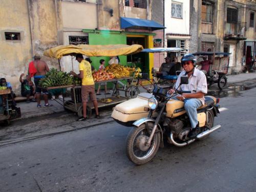 La Calle en La Habana