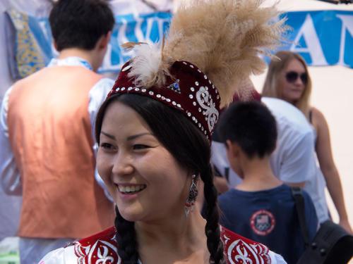 Estudiante Kazaja