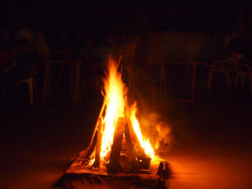 Cono de llamas