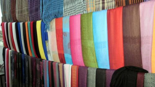 Colorido en el mercado