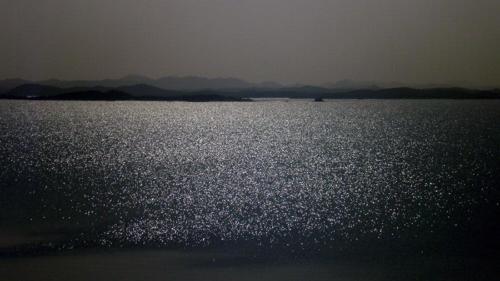 Anochece en el lago Nasser