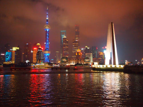 El Pudong desde el Bund
