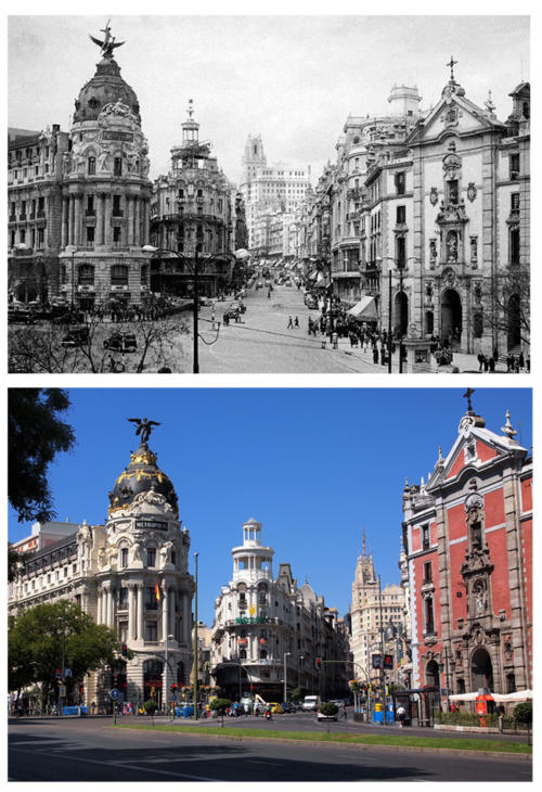 Gran_Vía_desde_Banco_1950
