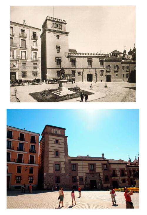Plaza de la Villa_1899