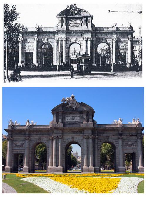 Pta_Alcalá_Fondo_Gran_Vía_1929