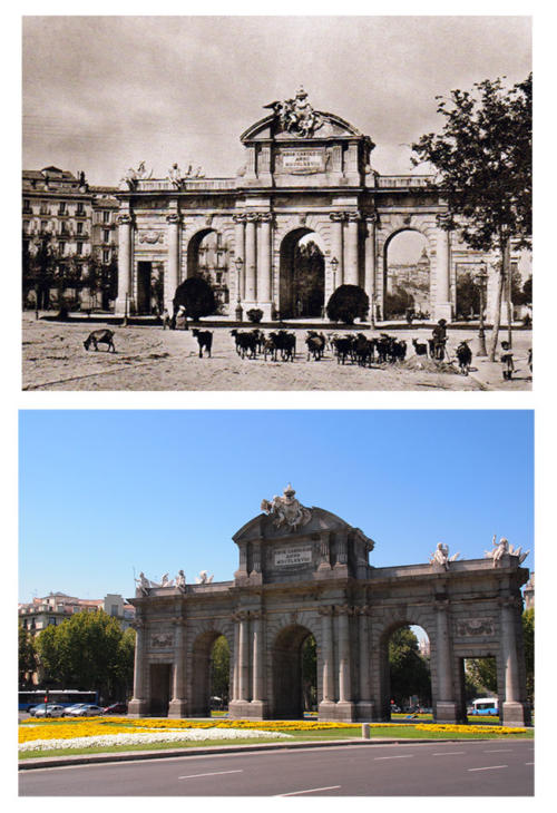 Puerta_Alcalá_desde_O´Donell_1895