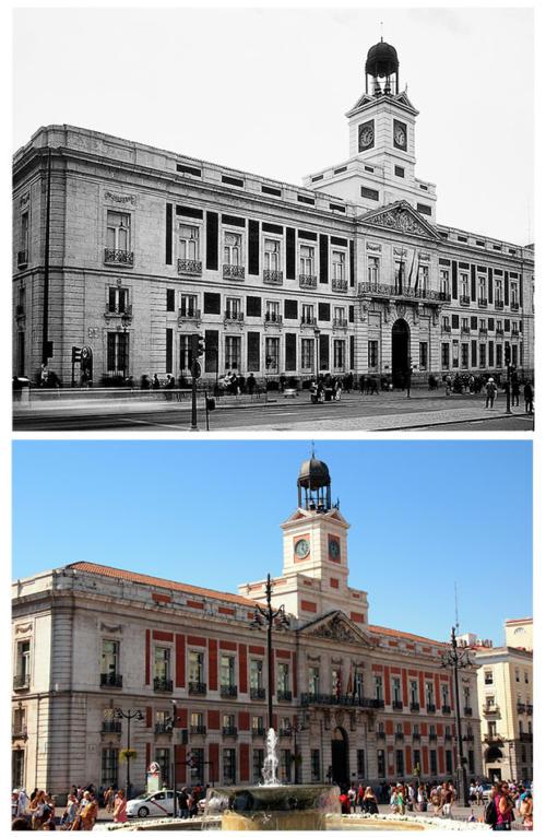 Puerta_del_Sol_1960