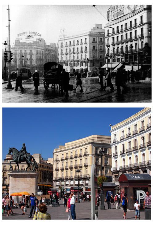 Puerta_del_Sol_desde_Gran_Via_1944