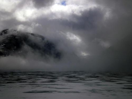 Nubes rasantes