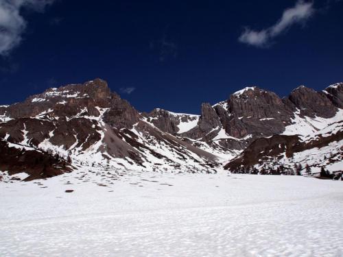 Montaña en bruto