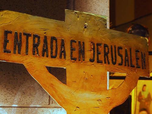 Paso 1-Entrada en Jerusalén