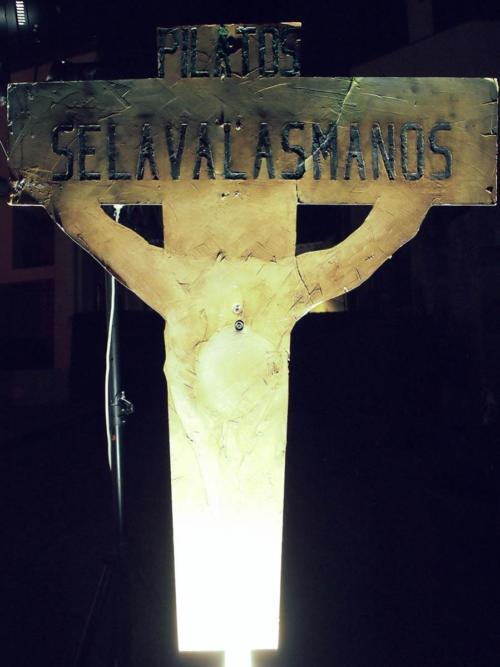 Paso 6-Jesús ante Pilatos