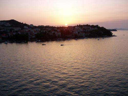 Puesta en Dubrovnik I
