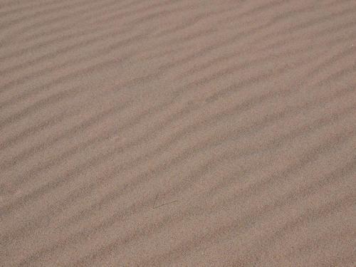 Surcos de arena