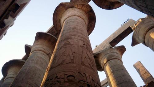 Majestuosa columna