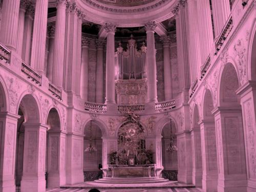 Sala blanca en el Louvre